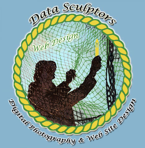 Data Sculptors web site design, Astoria & Eugene, Oregon